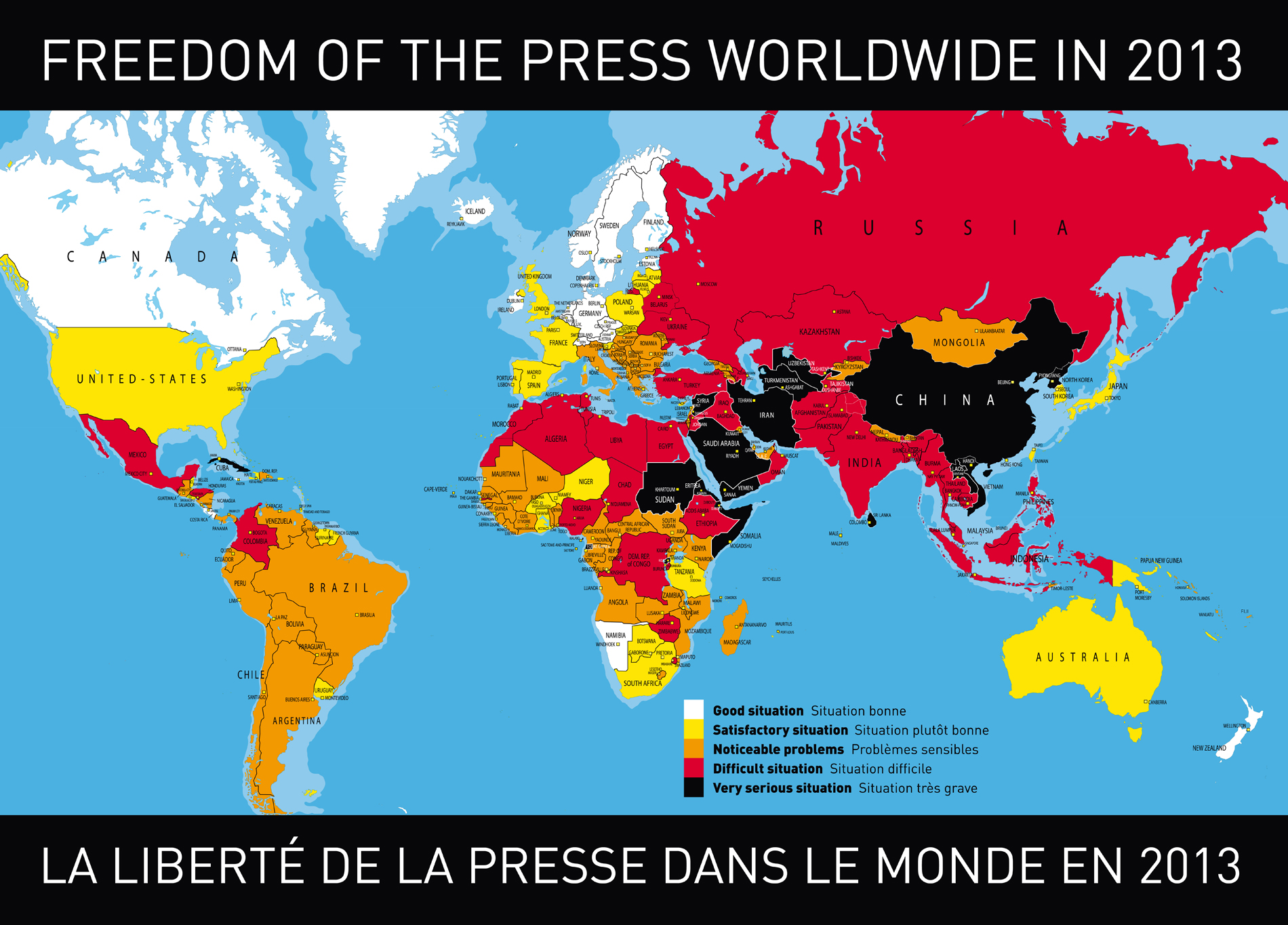 World press freedom index 2013 rsf gumiabroncs Image collections