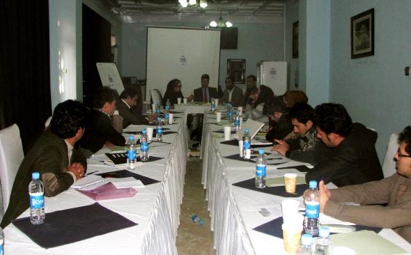 La Formation organisée par RSF à Kaboul de 5 à 7 novembre 2015