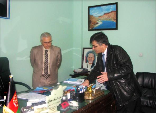 AbdulBari Jahani, ministre de l'Information et de la Culture