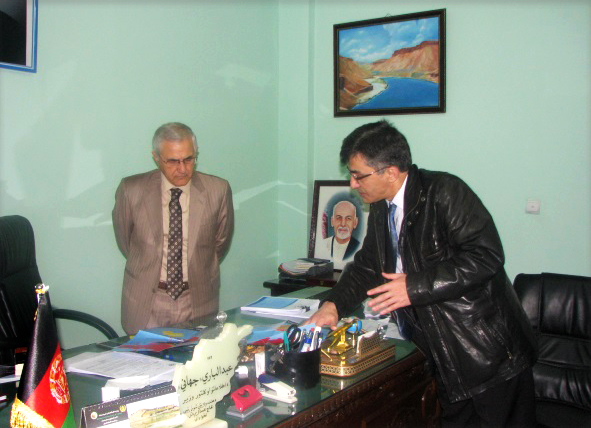 Information and culture minister AbdulBari Jahani