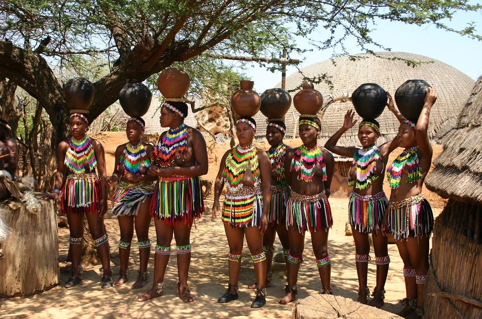 Congo africa village women nude