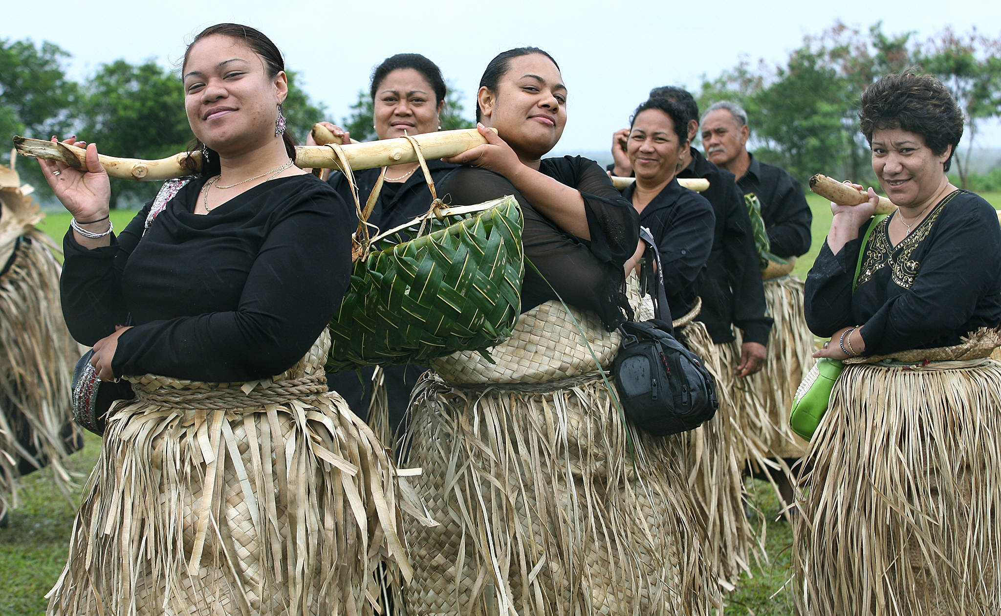 Pacific Islander Funeral Dress